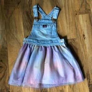 Like New Jordache Overall Tutu🌈Skirt-Size 4T